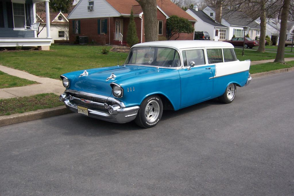 1957 chevrolet 150 2 door handyman wagon for sale