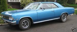 1966 Chevrolet Chevelle Super Sport 396