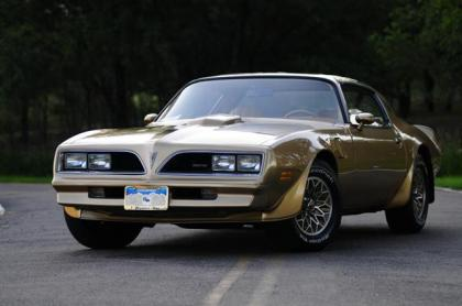 Gold Special Edition 78 Trans Am