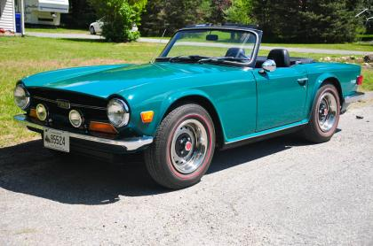 Immaculate 1972 Trimph TR 6
