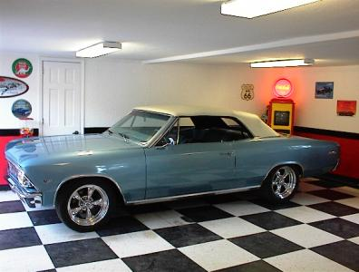 1966 Chevelle Malibu Convertible