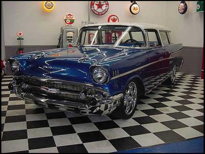 Rare / Custom 1957 Chevy Nomad