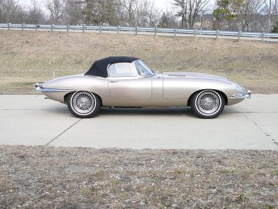 1965 Jaguar XKE E-Type Roadster OTS