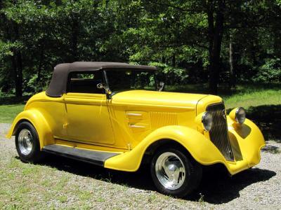 1934 Plymouth Convertible