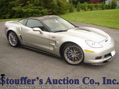 Online Only Estate Auction - 2009 Chevy Corvette ZR1
