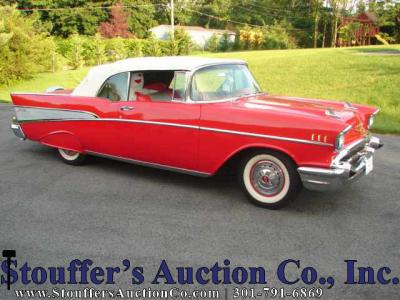 Online Only Estate Auction - 1957 Chevy Bel Air