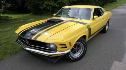 1970 Ford Mustang BOSS 302, MARTI REPORT AVAILABLE