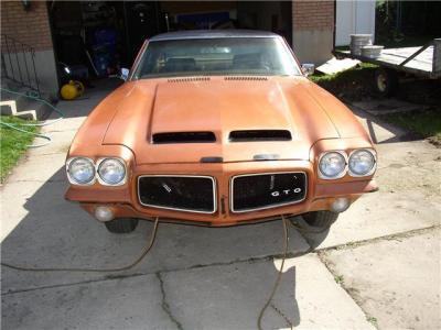 1971 pontiac GTO 455 H.O. Ram Air
