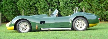 1958 Lister-Corvette reproduction