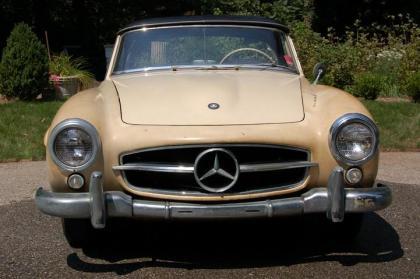 1956 Mercedes Benz 190 SL restoration project
