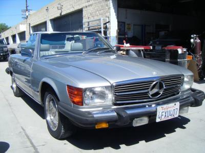 1985 Mercedes 380 SL, Hardtop/Convertible