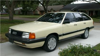 1986 Audi 5000S Wagon