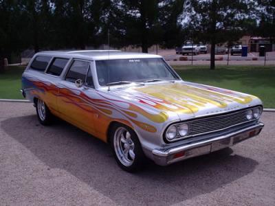 Rare 1964 Chevrolet Chevelle 2 dr. Wagon