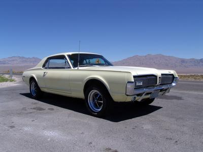 1967 Mercury Cougar 2 Door Coupe - 289 5.0L - 4bbl