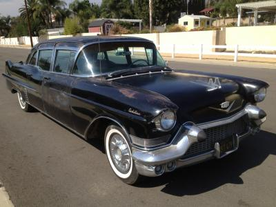 1957 Cadillac 75 Series Fleetwood 9-passenger sedan