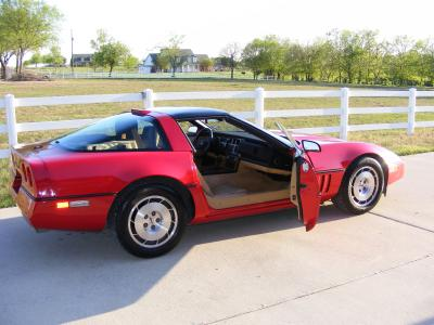 Yes, 1986 Corvette with 10K miles! - $19500