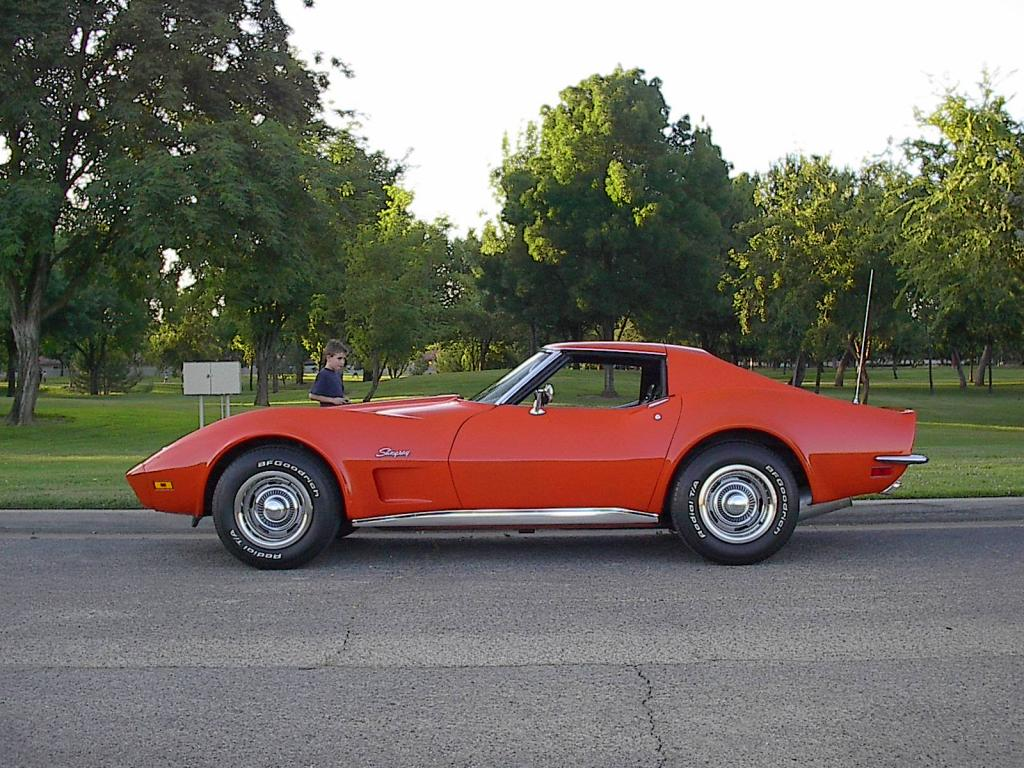 1973 corvette stingray with