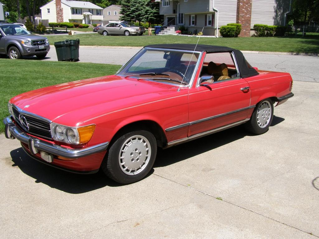 Classic 1973 450sl Mercedes Benz Convertible For Sale