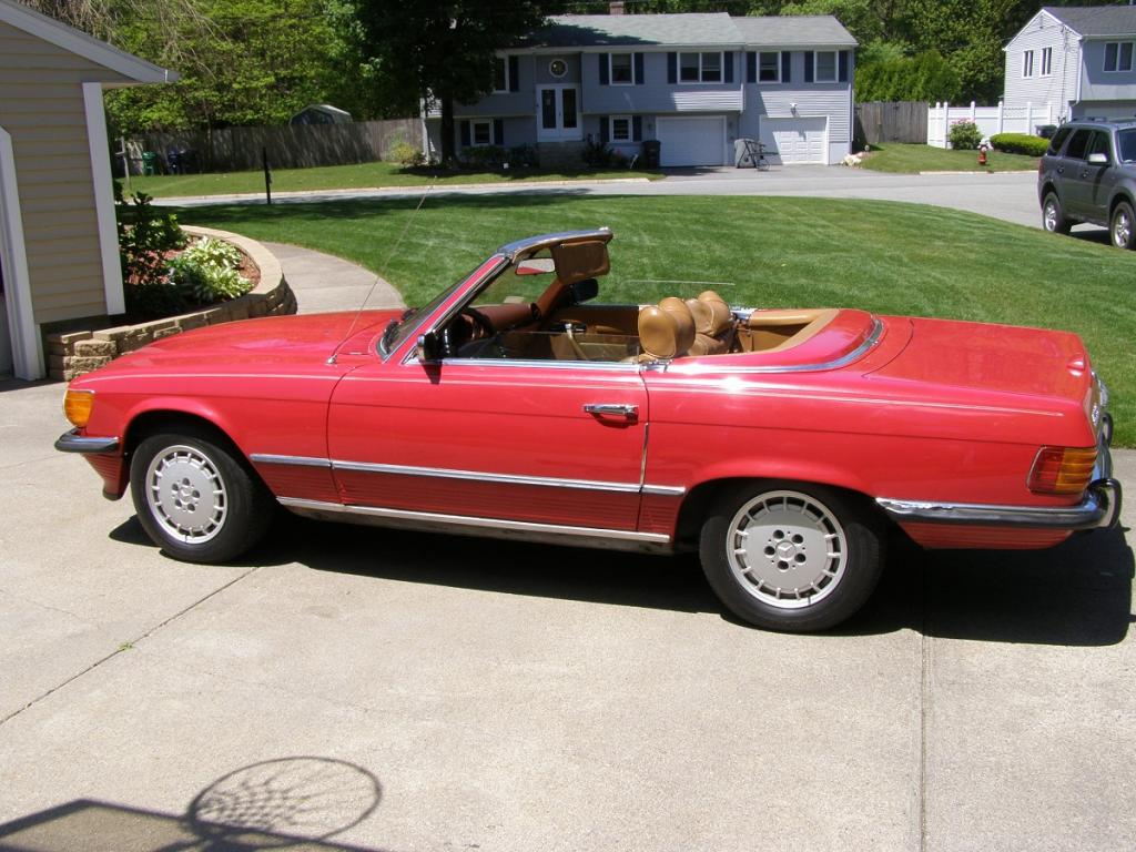 Classic 1973 450sl mercedes benz convertible for sale for Mercedes benz convertible 2010